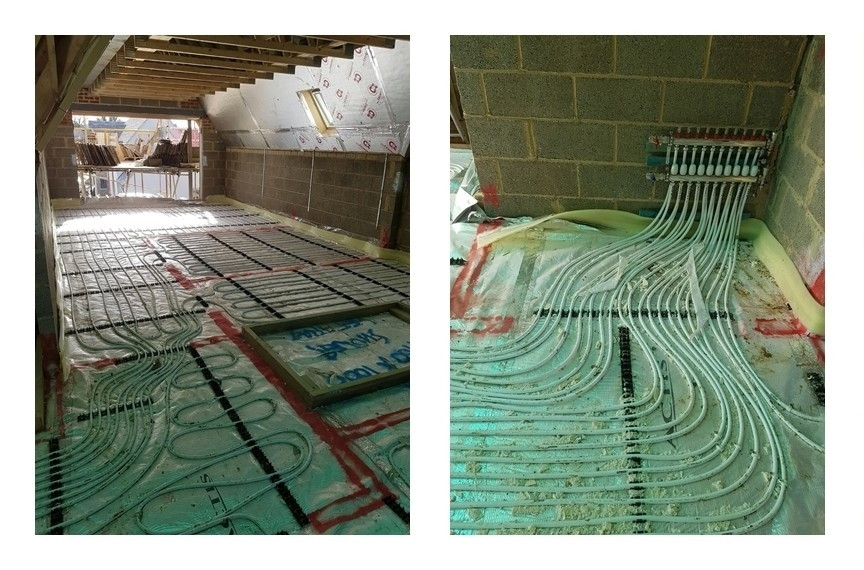 Using Air-Source and Ground-Source Heat Pumps with Underfloor Heating