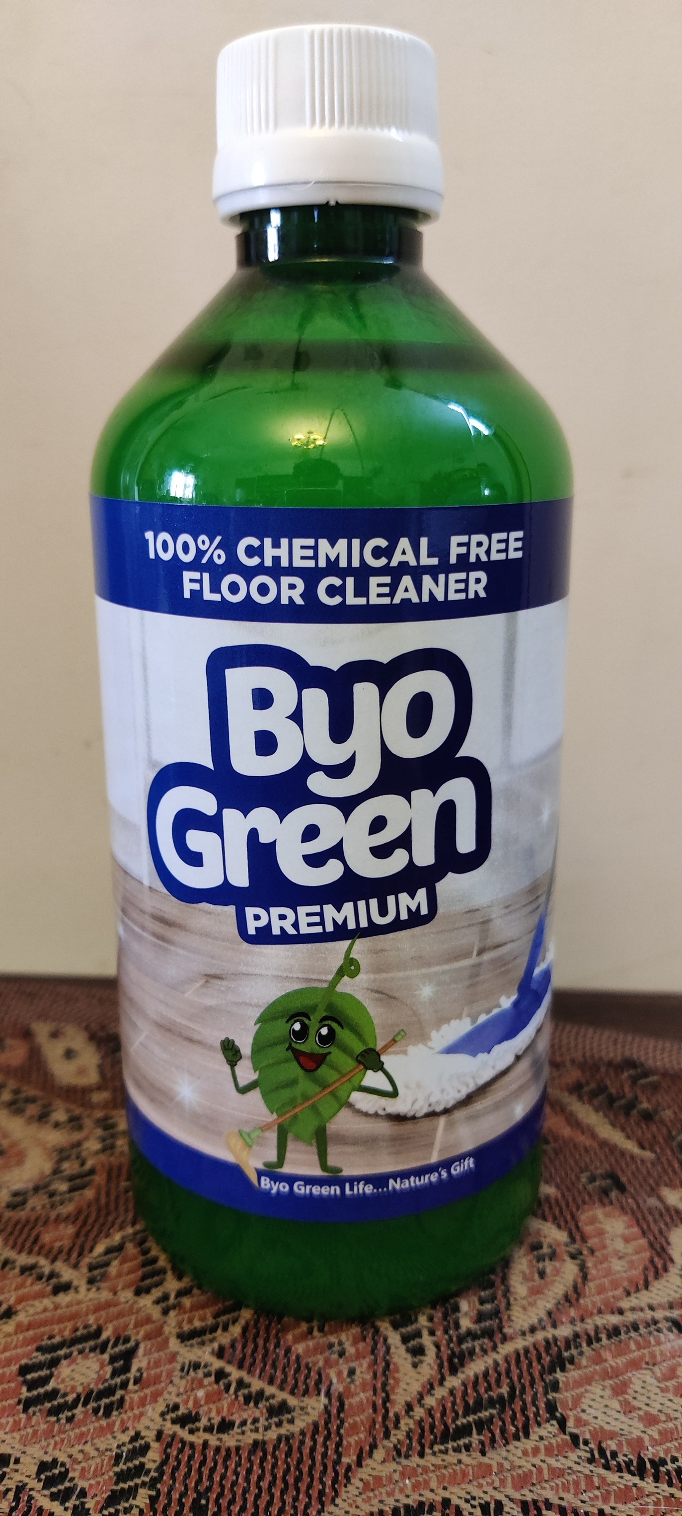100% Chemical - Free Floor Cleaner