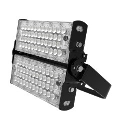 120W Residential Black Outdoor Lighting Led Flood Lights fixture