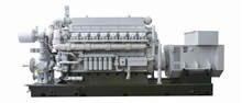 1.2MW Gas Engine/Generator Set