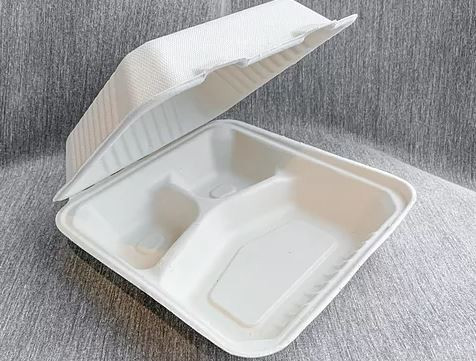 3 Compartment Clamshell