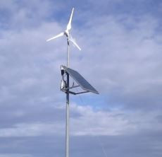 300W Horizontal Wind Turbines MS-EW300