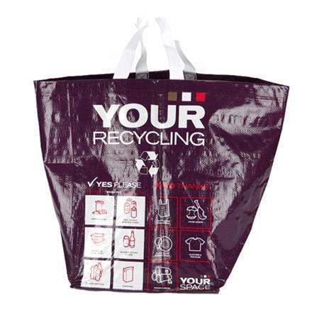 40 Litre Circular Woven PP Recycling Bag