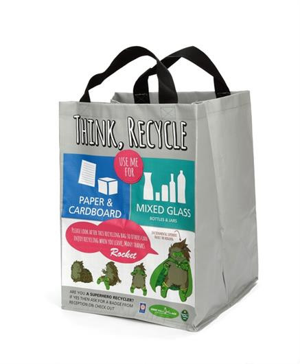 40 Litre Woven PP Recycling Bag
