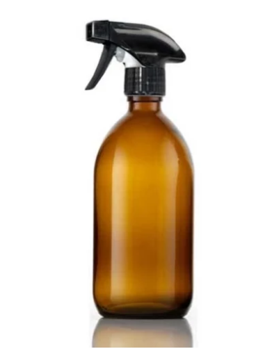 500ml Glass Bottle with trigger spray