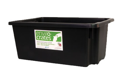 52L STACKING NESTING CRATE