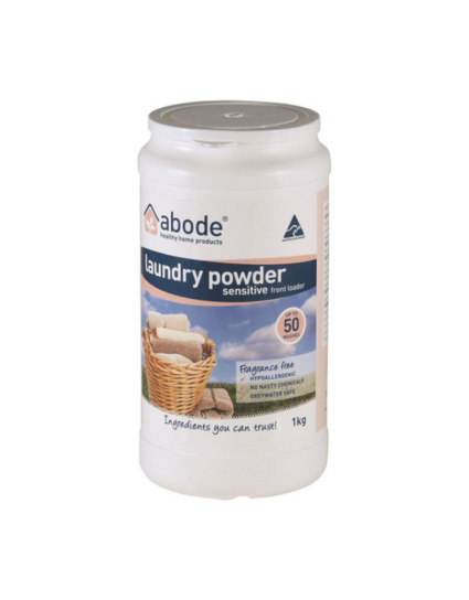 Abode - Laundry Powder (Front & Top Loader)
