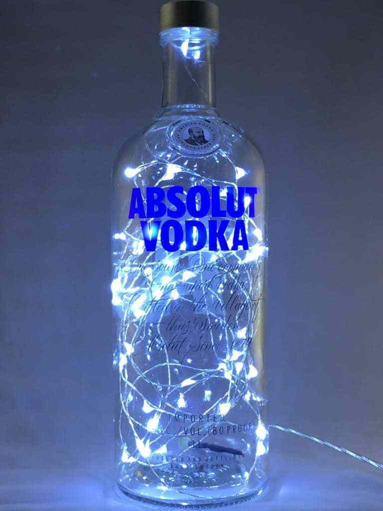 Absolut Vodka Fairy Light Table Lamp