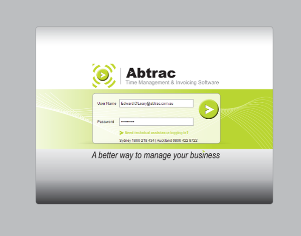 Abtrac's key job costing software