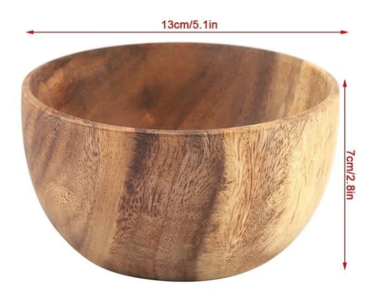 Acacia Wood Bowl (4 sizes)