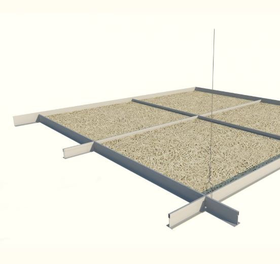 Acoustic Ceiling – Exposed Tee