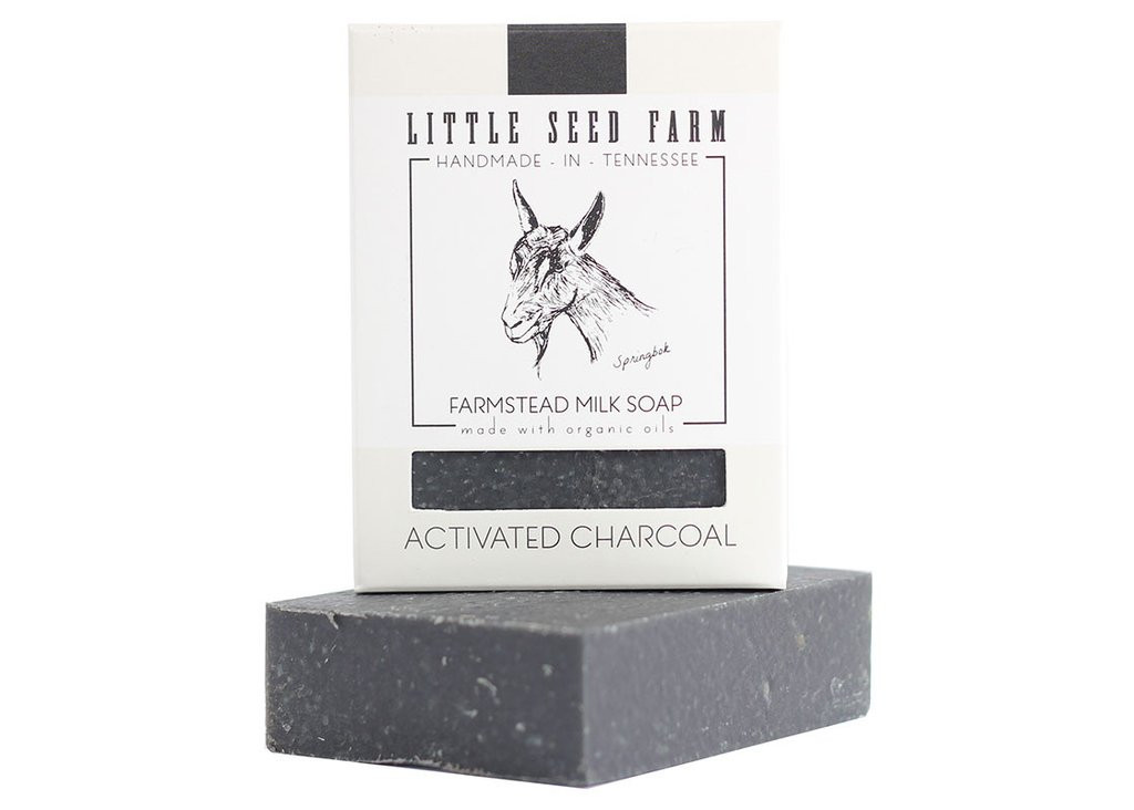 Activated Charcoal Bar Soap for Face & Body