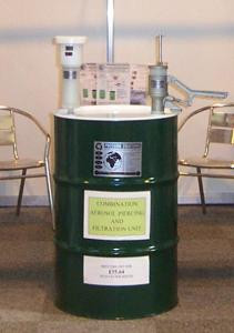 AEROSOLV® Drum-based Aerosol Can Recycling System