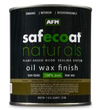AFM Naturals Oil Wax Finish