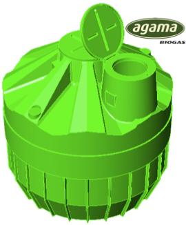AGAMA Biogas  Digester