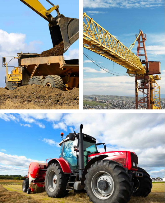 Agricultural, Construction and Earth-moving Equipment