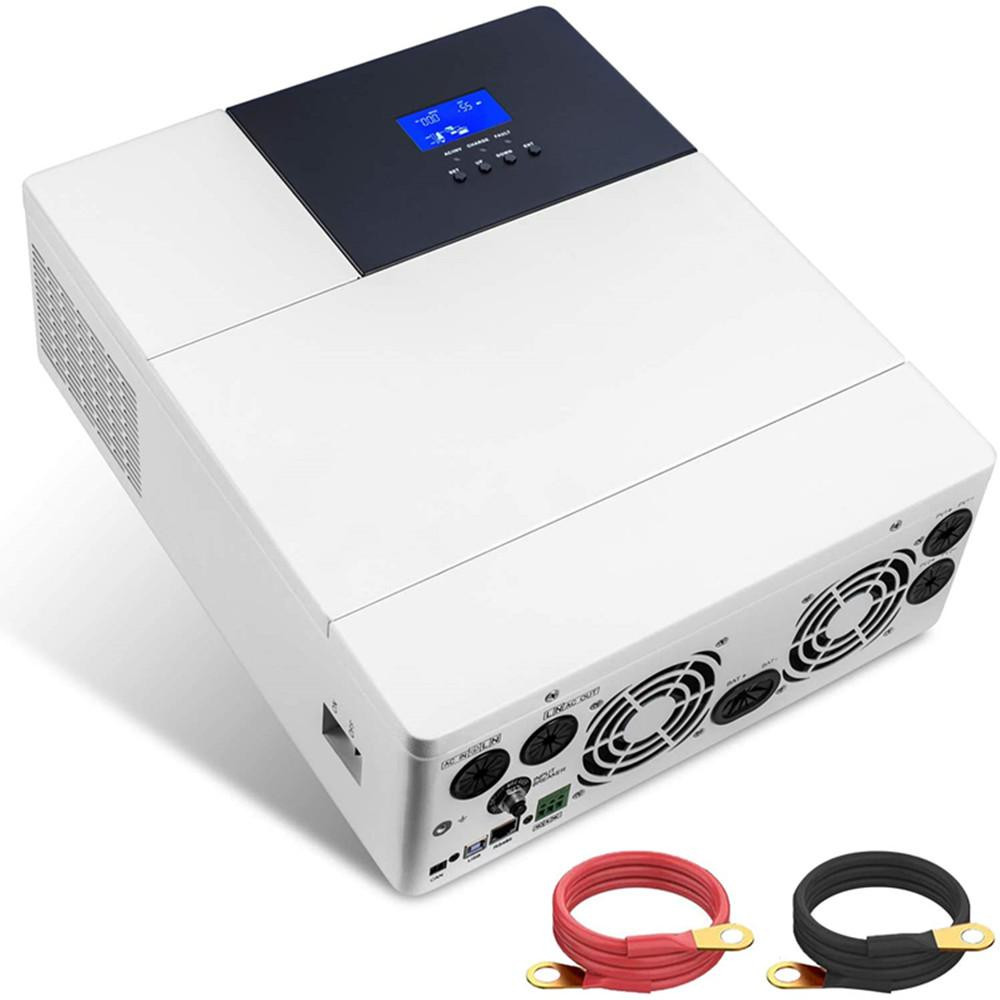 All-in-one Inverter Built Pure Sine Wave Power Inverter & Controller for Off Grid System