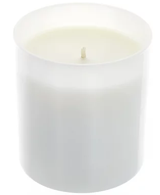 All Natural Soy Candle 8.5 oz White Tumbler w/ Lid Holiday Scents