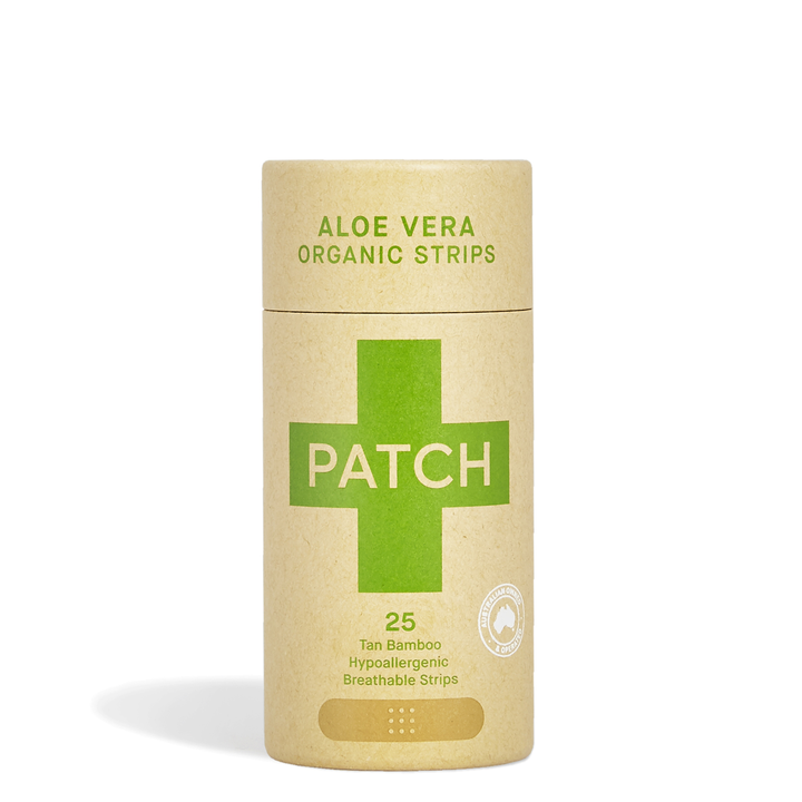Aloe Vera Adhesive Strips Tube of 25 (Plasters)