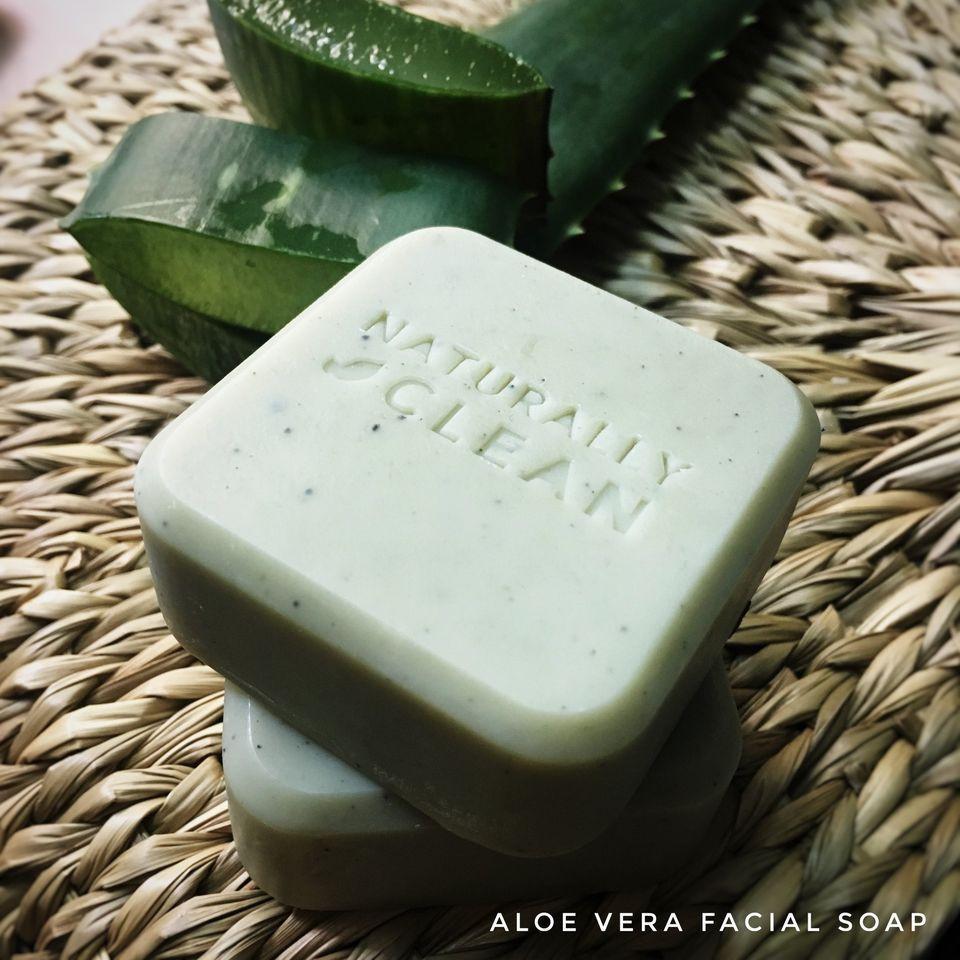 Aloe Vera Facial Soap