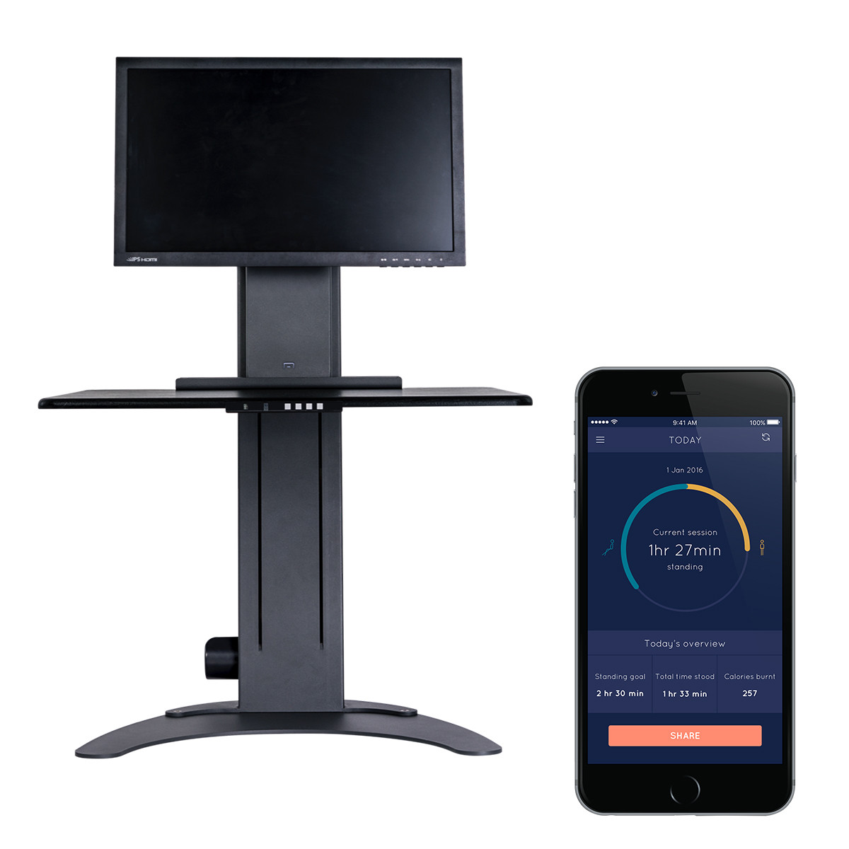 ALTIZEN PRO SMART ELECTRIC SIT STAND WORKSTATION
