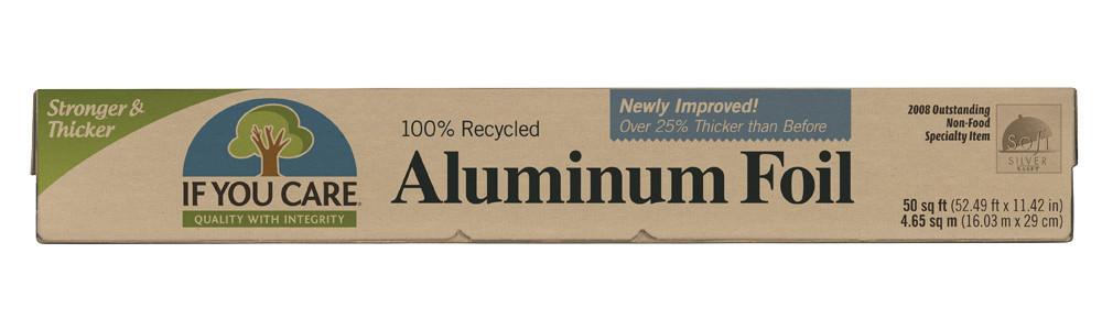 Aluminium Foil 100% Recycled