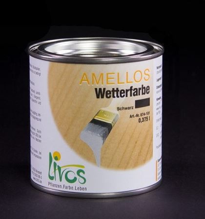Amellos Natural All Weather Exterior Paint For Wood
