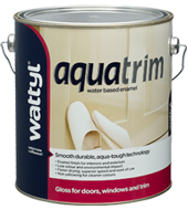 AQUA TRIM GLOSS WATER BASED ENAMEL