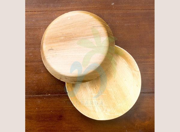 Areca Leaf Oval Plate (No edges)