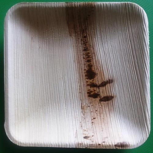 Areca Leaf Plain Square Plates