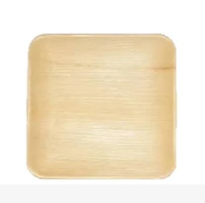 "Areca Leaf Plates Square 8"" Plate"