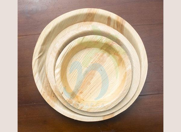 Areca Leaf Round Plate (03)