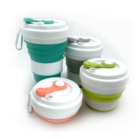 Backstock - Collapsible Silicone Cups