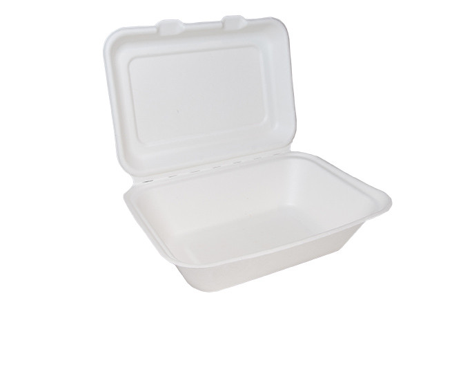Bagasse Clamshell Regular