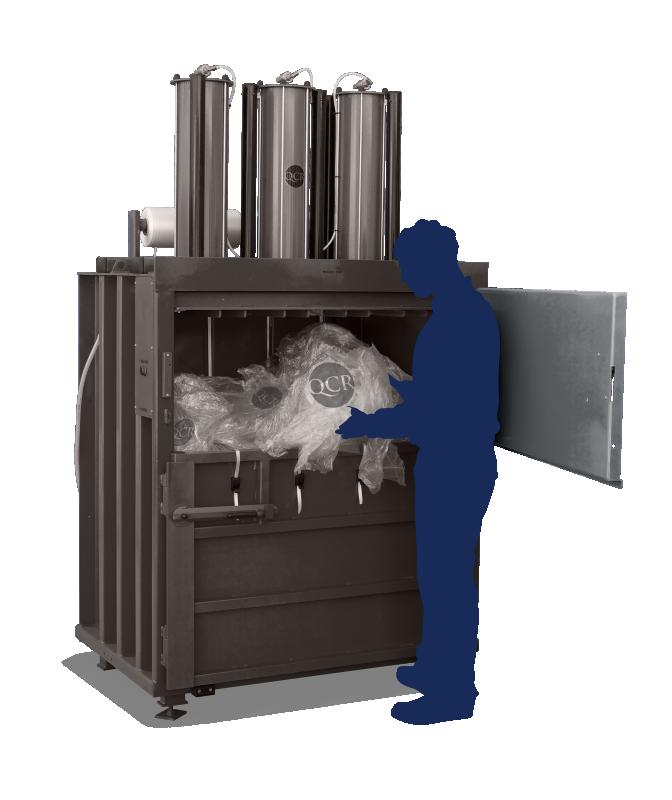 Balers for Cardboard Waste - QCR 509 Waste Baler