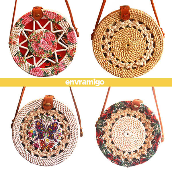 Bali Rattan Eco Fashion Sling Bag