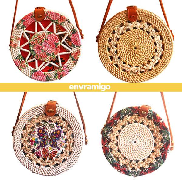 Bali Rattan Eco Fashion Sling Bag