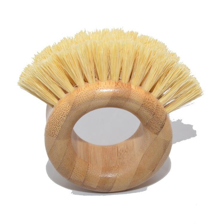 Bamboo and Sisal Vegetable Scrubber
