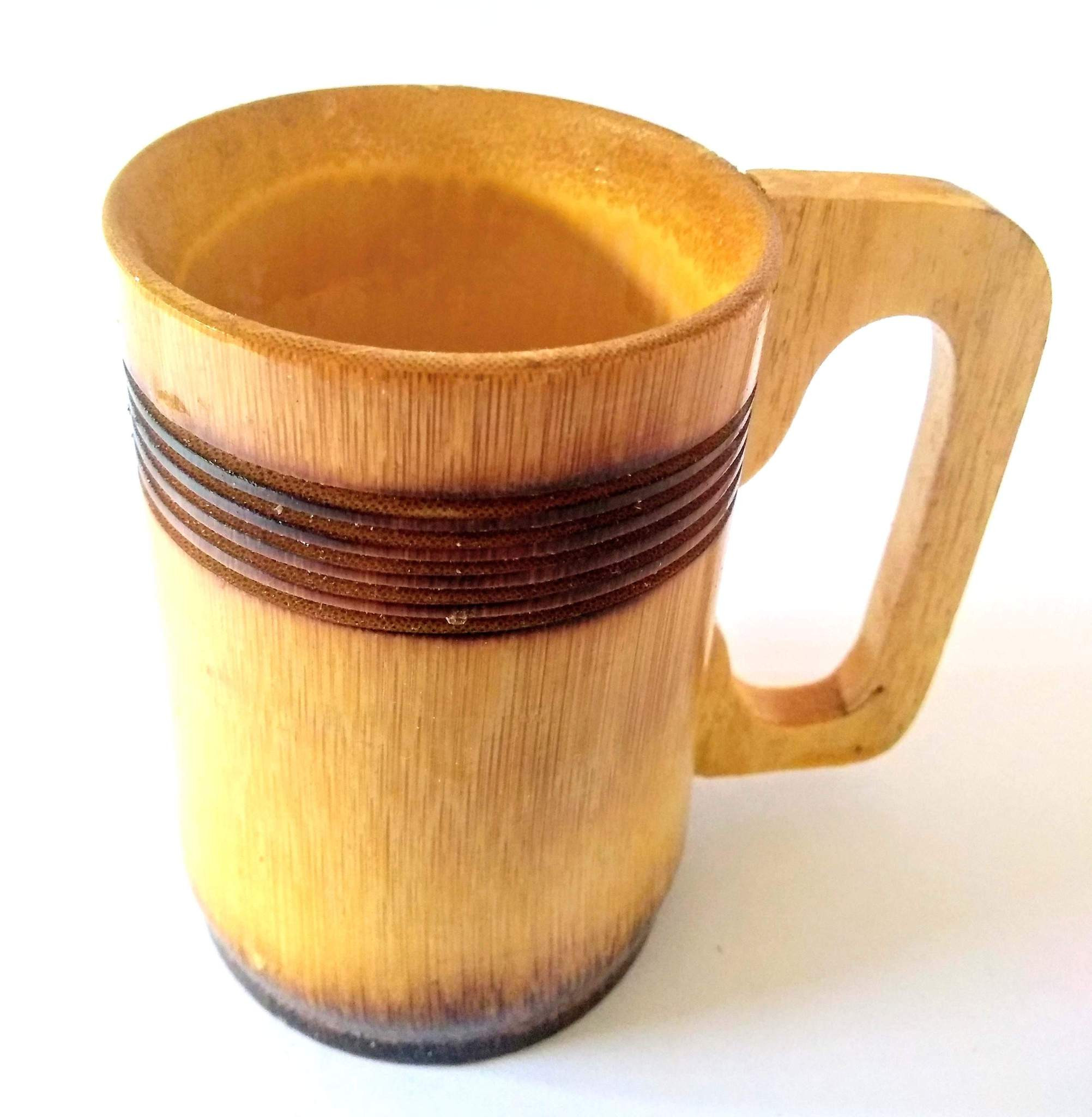 Bamboo Coffee Mug / Eco Friendly Mug-(300 ML)