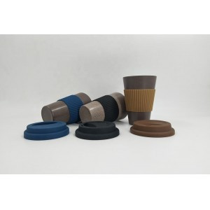 Bamboo Fiber Cup/Coffee Bean Coffee Mug Inqui