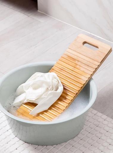 Bamboo Non-slip Washboard