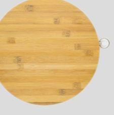 Bamboo Round Cutting Board
