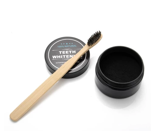 BAMBOO SET TOOTHBRUSH & TOOTH WHITENING