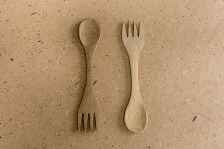 Bamboo Spork (spoon + fork)