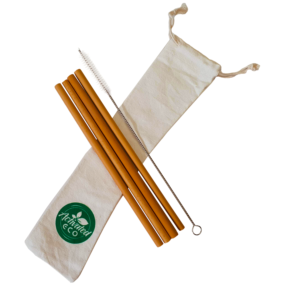 Bamboo Straws Reusable