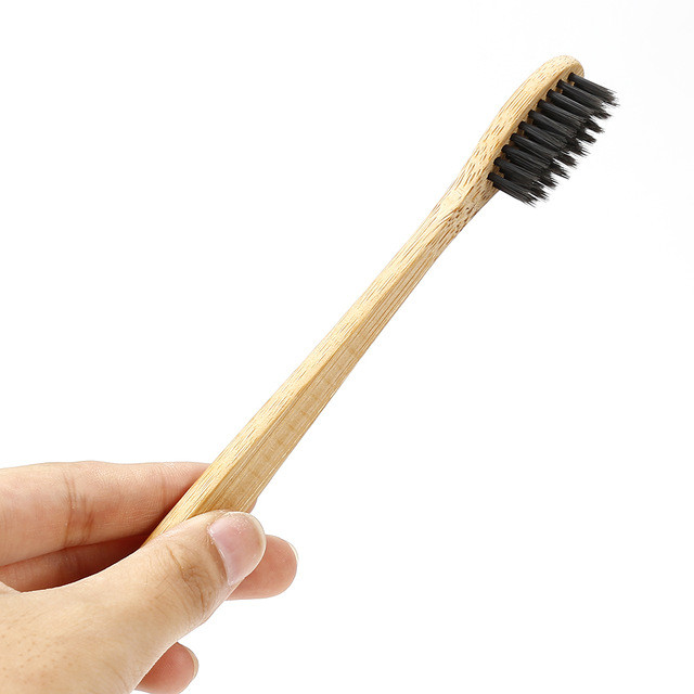 Bamboo Toothbrush Charcoal Bristle