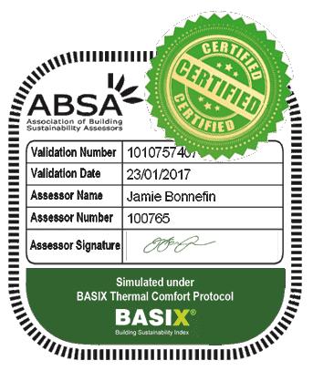 BASIX Certificate