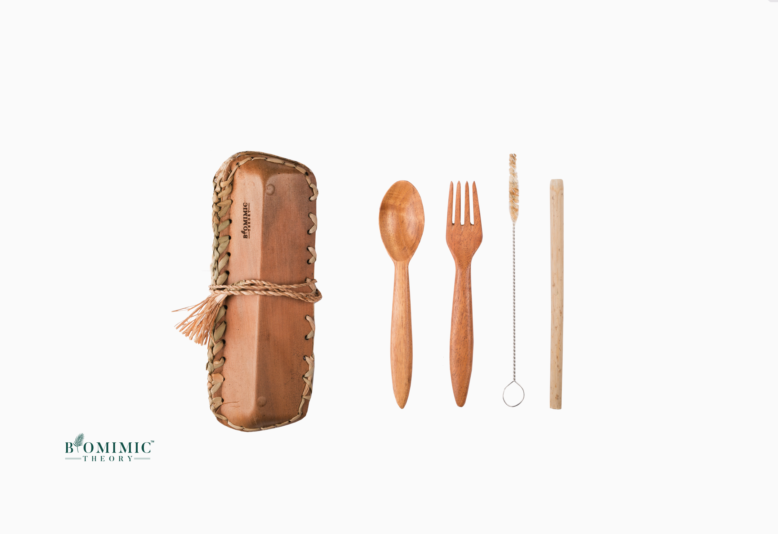 Bio Array – Wooden Travel Cutlery