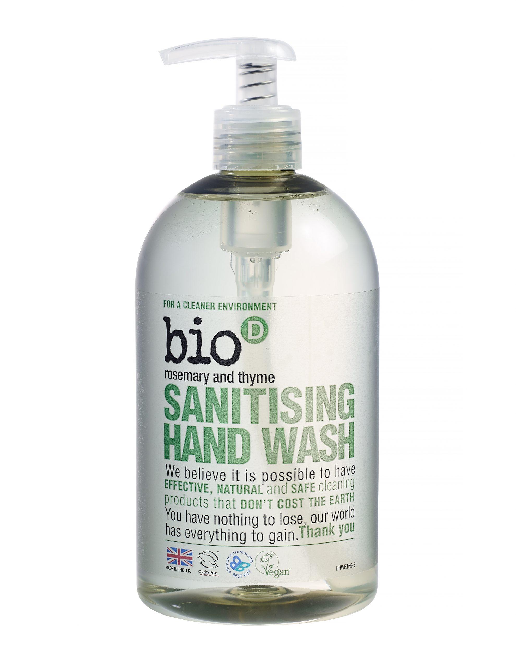 Bio-D Rosemary & Thyme Sanitising Hand Wash