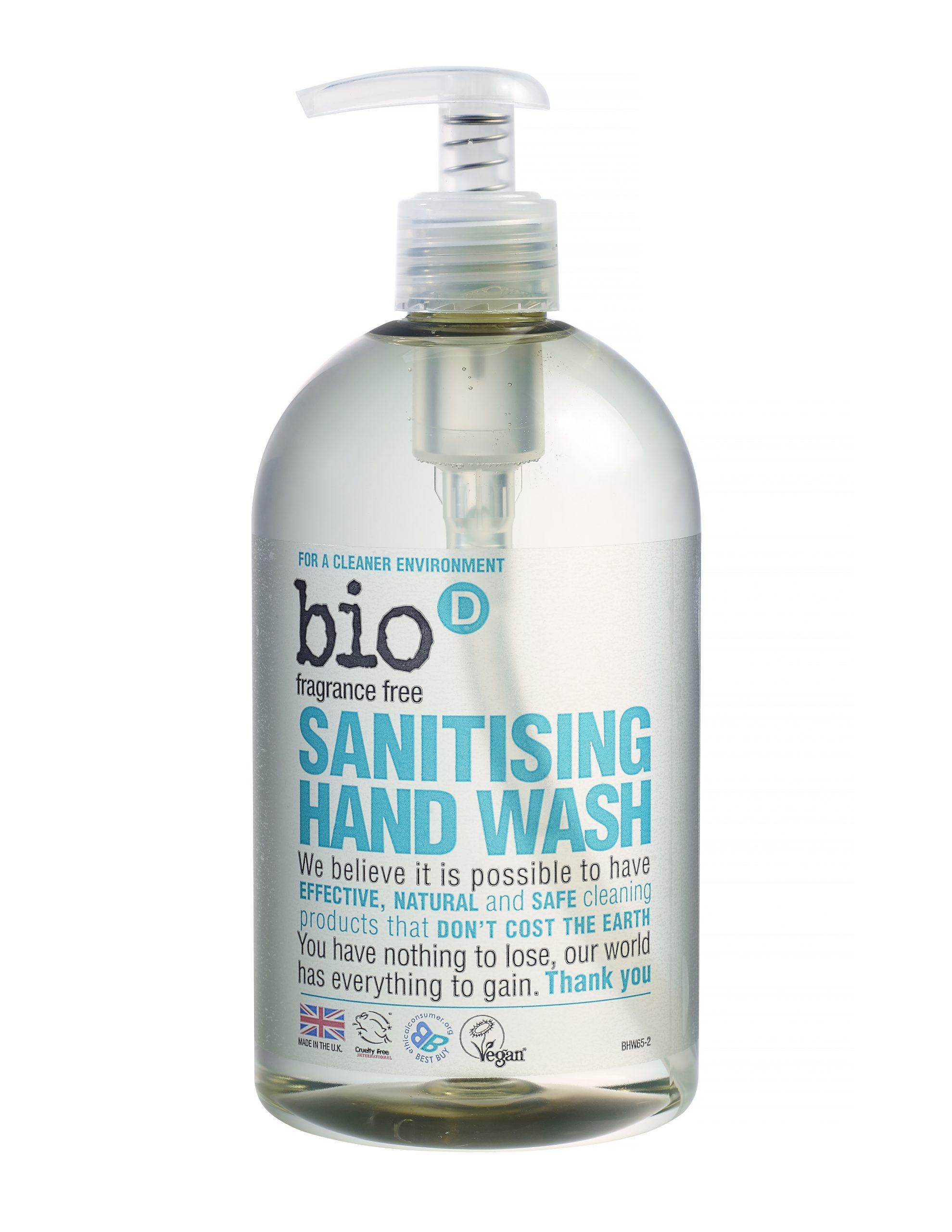 Bio-D Sanitising Hand Wash (fragrance free)